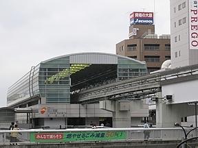 立川駅(JR東日本・中央本線・青梅線・南武線)駅舎・駅名標・ホーム・駅前写真・画像