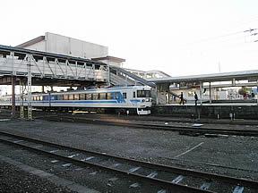 JRホームから見た秩父鉄道ホーム
