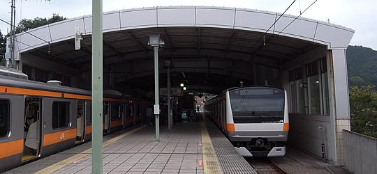 五日市線(JR東日本)駅舎・駅名...