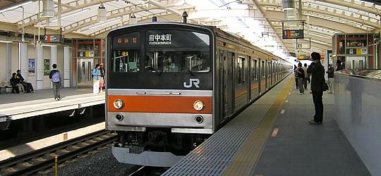 武蔵野線(JR東日本) 全駅舎、...