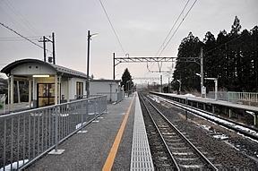 陸前白沢駅(JR東日本・仙山線)