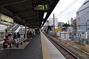 大口駅(JR東日本・横浜線)駅舎...