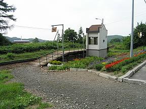 北美瑛駅(JR北海道・富良野線)