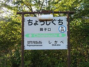 銚子口駅(JR北海道・函館本線)...