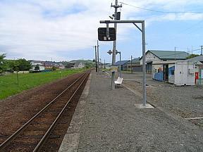 荻伏駅(JR北海道・日高本線・荻...