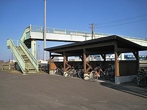 ... 自転車置き場が新設されました