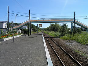 遠矢駅(JR北海道・釧網本線)