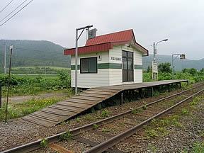 天塩川温泉駅(JR北海道・宗谷本...