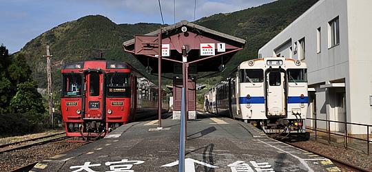 豊肥本線(JR九州)駅舎・ホーム...