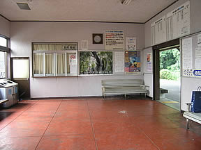 阿波赤石駅