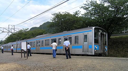 予讃線(JR四国)駅舎、ホーム、...