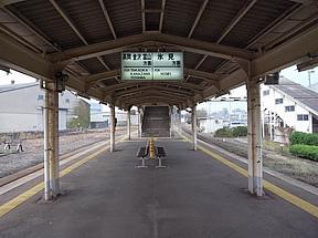 伏木駅(JR西日本・氷見線・伏木...