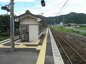 十村駅(JR西日本・小浜線)